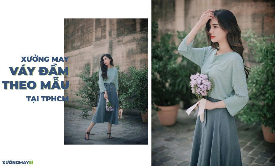 Xưởng may váy đầm thiết kế XUONGMAYSI.com