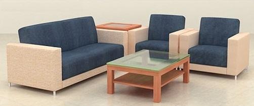 Bộ ghế sofa văn phòng bọc nỉ
